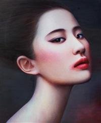 woman 2 by zhang xiangming
