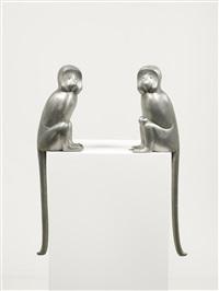 singe alternatif (pair) by françois-xavier lalanne