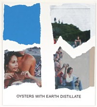 morsels and snippets: oysters with earth distillate by john baldessari