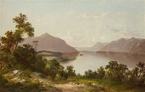 voyeurs in virgin territory the hudson river school painters by david johnson