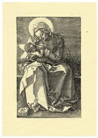 the virgin nursing the child by albrecht dürer