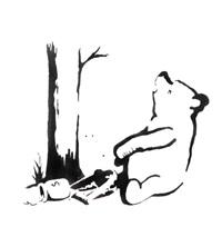 pot money trap (winnie the pooh) by banksy