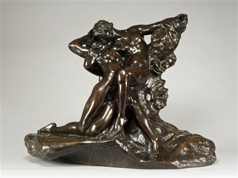 eternal spring, 2nd reduction by auguste rodin