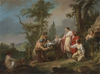 the finding of moses by jean baptiste marie pierre