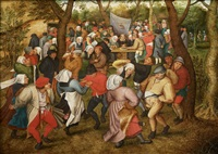 open air wedding dance by pieter brueghel the younger