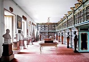 biblioteca américa universidade de santiago de compostela i by candida höfer