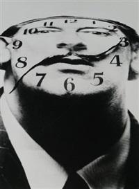 dali clock face by philippe halsman