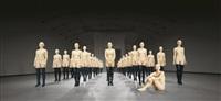 vb45.9043.ali kunsthalle wien, vienna, austria by vanessa beecroft