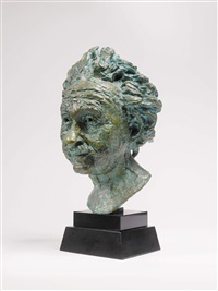 professor albert einstein, conceived in 1933 by sir jacob epstein