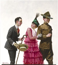 excuse me by norman rockwell