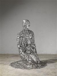 self-portrait as dashiell hammett v by jaume plensa