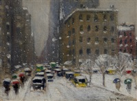 looking south from 41st. street by guy carleton wiggins