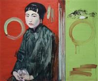 seasons: summer with cynical fish by hung liu