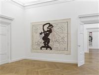 carte de l'europe (shower woman) (installation view) by william kentridge