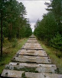 the railway, borne sulinowo, poland by fouad elkoury