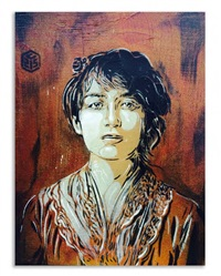 camille claudel by c215