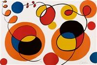 loops and spheres, 53/95 by alexander calder