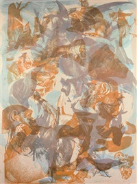 untitled i by cecily brown
