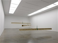 installation view, white cube mason's yard by virginia overton