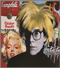 warhol's icons by steve kaufman