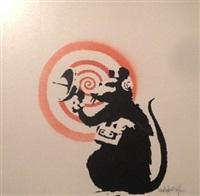 radar rat by banksy