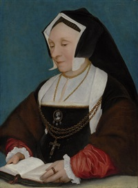 lady alice more by hans holbein the younger