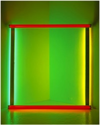 untitled (to bob and pat rohm) by dan flavin