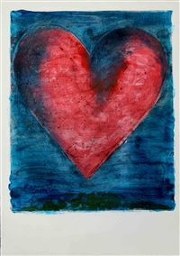 a heart on the rue de grenelle by jim dine