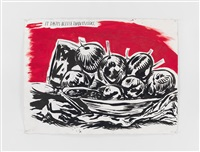 no title (it tastes better...) by raymond pettibon