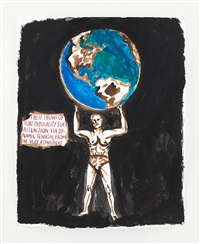 no title (these shows of...) by raymond pettibon