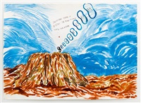 no title (projective saying is...) by raymond pettibon