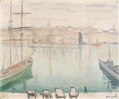 marseille, eté 1916 by albert marquet