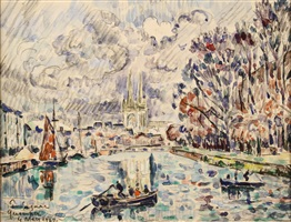 quimper by paul signac