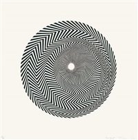 untitled (based on blaze) by bridget riley