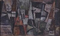 ritmos oblicuos con objetos fragmentados by joaquín torres garcía