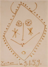 mask design by pablo picasso