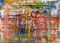 abstraktes bild (p1) by gerhard richter