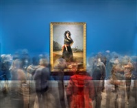 "goya's duchess of alba - ""goya: order & disorder,"" boston by matthew pillsbury"