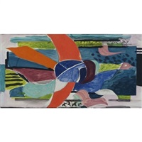 multicolour bird by georges braque