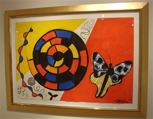 butterfly and spiral by alexander calder
