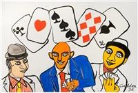 dallas (card players) by alexander calder