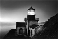 point sur light station, big sur, ca by bob kolbrener