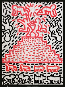 dumbo auction - art of the 80s and 90s by keith haring