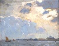 venetian sail by aldro thompson hibbard