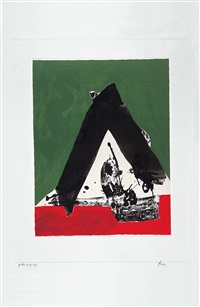 the basque suite: untitled by robert motherwell