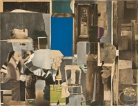 gray interior by romare bearden