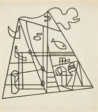 untitled (nautical forms) by stuart davis