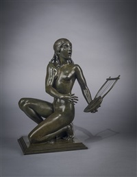 lyric muse by paul howard manship
