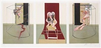 triptych inspired by the oresteia of aeschylus by francis bacon