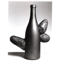 untitled (phallic sculpture: bottle) by yayoi kusama